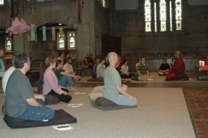 Meditation at Carlton College with Bhante Sathi