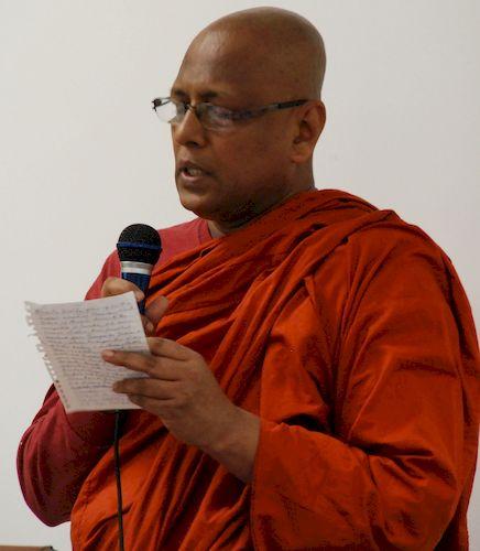 Introducing Bhante Kovida for the teachings at the Metta Meditation Center