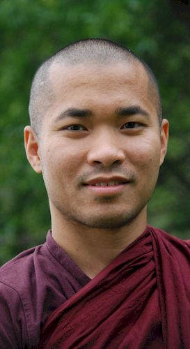 Bhante Dammadeva, Resident monk at the Metta Meditation Center