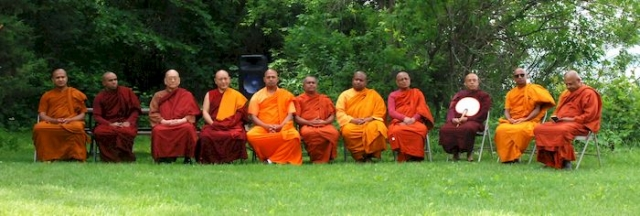 Bhante Dhammawasa, Bhante Uparatana, Bhante Koddanna, Bhante Dewananda