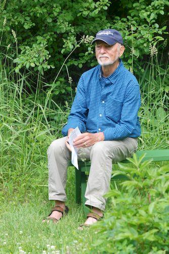 Ralph at the Metta Meditation Center