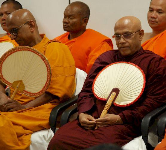 Ven Kondanna and Ven Dhammawasa