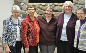 Sisters of Holy Francis at te Holy Spirit Retreat Center