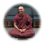 Bhante Sathi talking about meditation