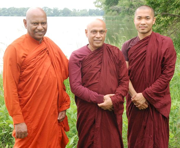 Ven Muditha, Ven Dhammawasa, Ven Dhammadew